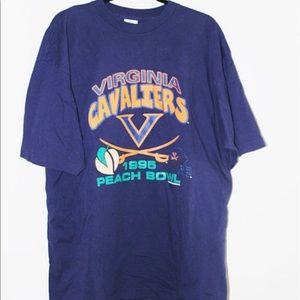 1995 UVA peach bowl TShirt
